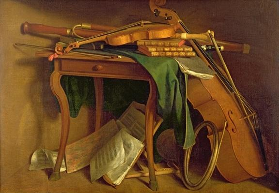 The Musician's Table, c.1760
