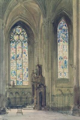 Chapel in the South Transept, Rouen Cathedral, 19th century