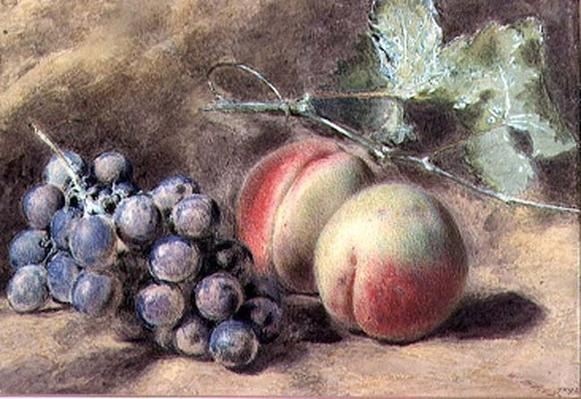 Grapes and Peaches, 19th century