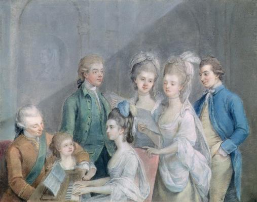 The family of Charles Schaw, 9th Baron Cathcart