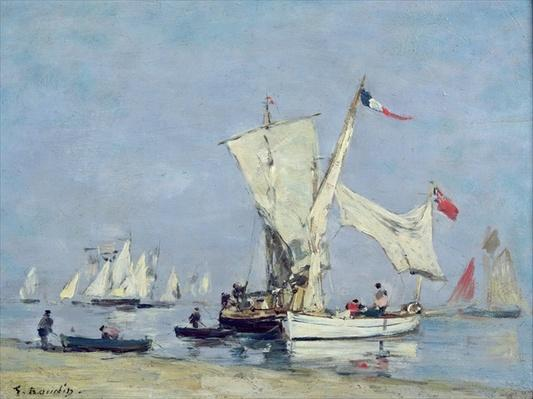 Sailing Boats, c.1869