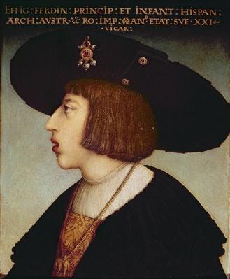 Portrait of Ferdinand I, Holy Roman Emperor
