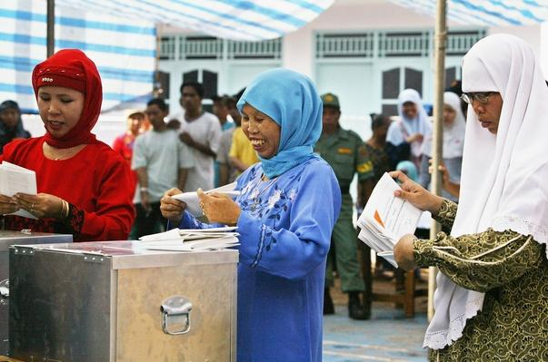 Indonesians Go To The Polls For Parliamentary Elections | Women's Suffrage | U.S. History