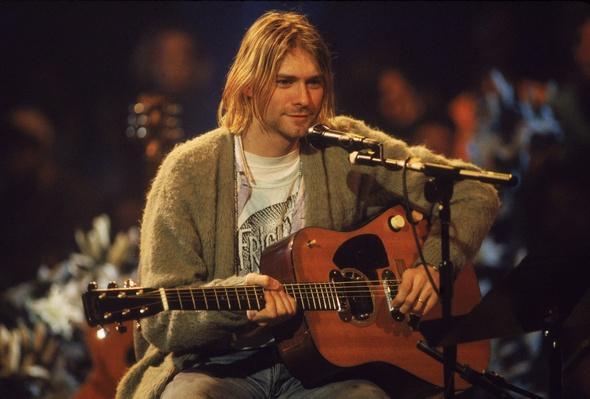 Kurt Cobain On 'MTV Unplugged' | 20th Century Music Icons