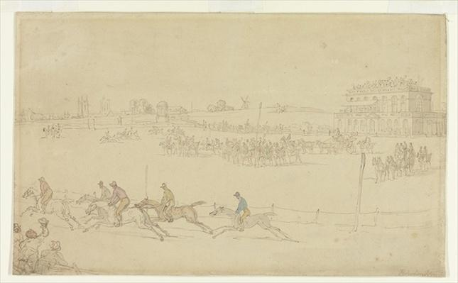A Race of the Knavesmire at York