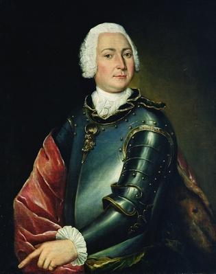 Portrait of Count Ernst Christoph von Manteuffel