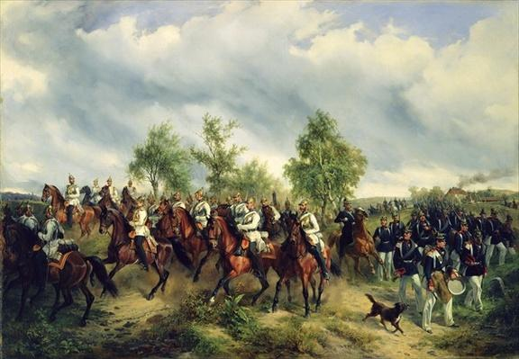 Prussian cavalry on expedition