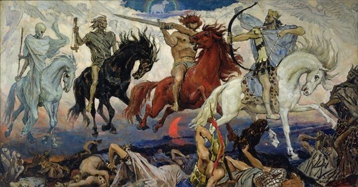 The Four Horsemen of the Apocalypse, 1887