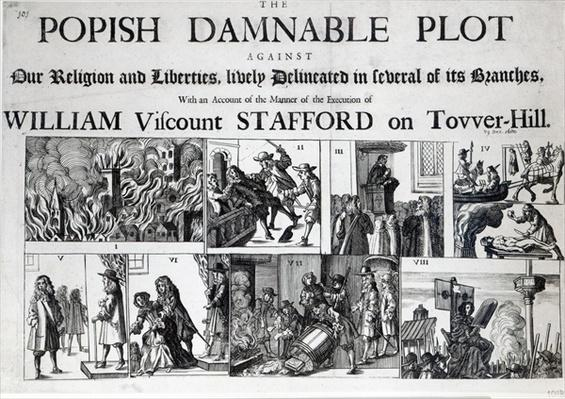 The Popish Damnable Plot Against Our Religion and Liberties, 1680