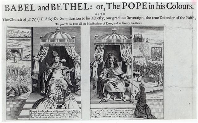 Babel and Bethel: or, the Pope in his Colours, 1679