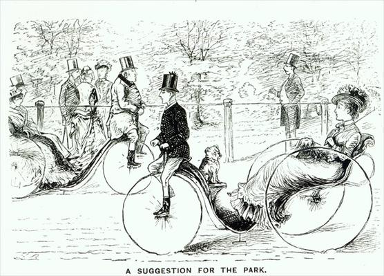 'A Suggestion for the Park', 1879