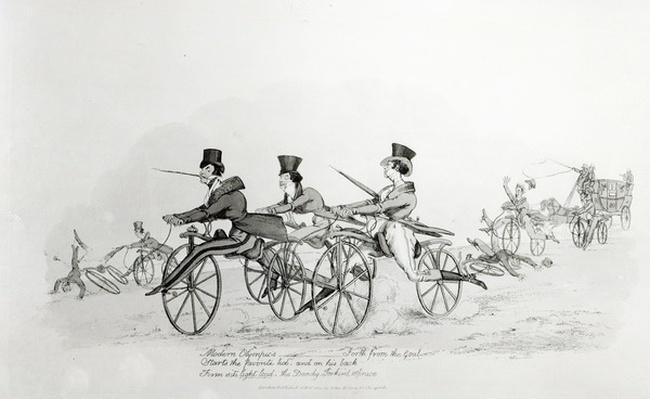 'Modern Olympics', c.1820
