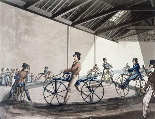 Johnson's Pedestrian Hobbyhorse Riding School, 1819