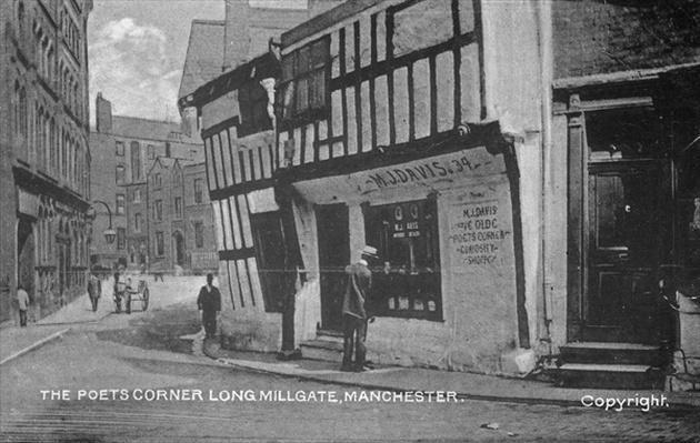 The Poet's Corner, Long Millgate, Manchester, c.1910