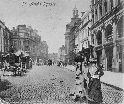St. Ann's Square, Manchester, c.1910