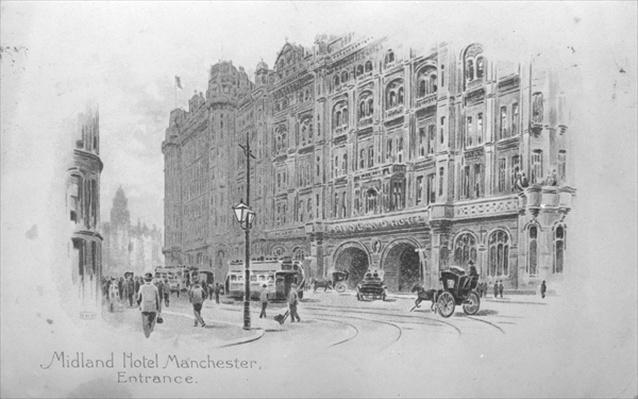The Midland Hotel, Manchester, c.1910