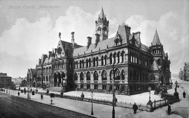 Assize Courts, Manchester, c.1910