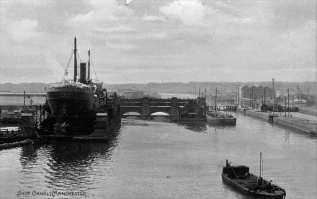 Manchester Ship Canal, c.1910