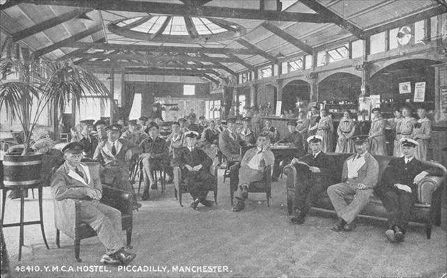 YMCA Hostel, Piccadilly, Manchester, c.1910