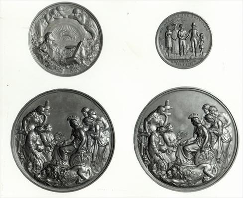 Medal commemorating the Emancipation of the West Indies, 1838