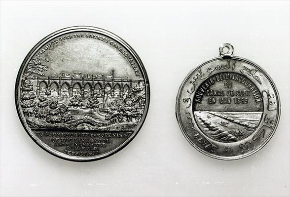 Medal Commemorating the opening of the Suez Canal, 1869