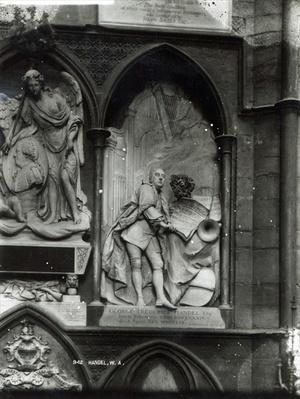 Monument to Handel, 1762
