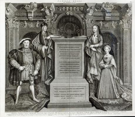Familia Regia, or The Family of Henry VIII, 1742