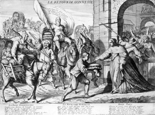 'Le Retour de Gonnesse', April 1649
