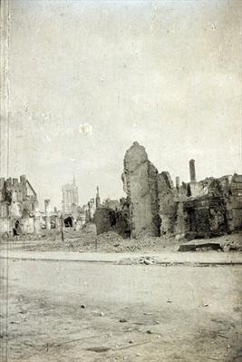 The Square, Ypres, June 1915