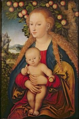 The Virgin and Child under an Apple Tree, 1520-26