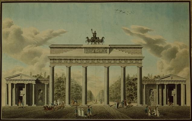 Brandenburg Gate, 1812