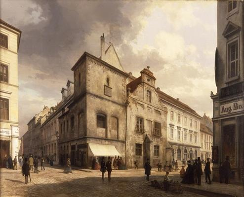 Old Berlin City Hall, 1867