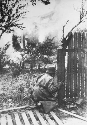 Cautious Soldier | World War II