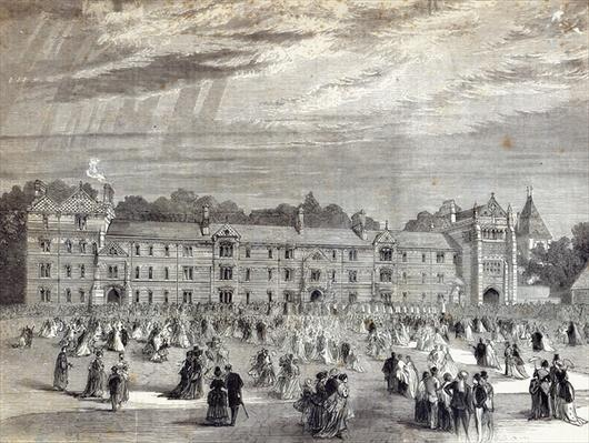 The Opening of Keble College, Oxford, from 'The Illustrated London News'