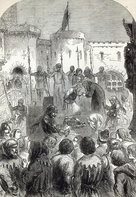 Execution of the Archbishop of York, illustration from 'Cassell's Illustrated History of England'