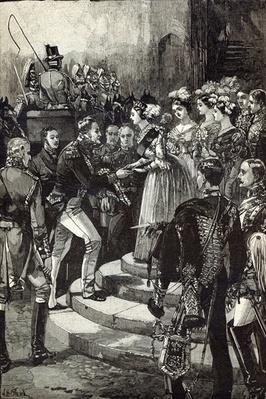 Reception of Louis Philippe at Windsor Castle