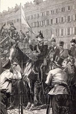 The King of Prussia addressing the Berliners in 1848
