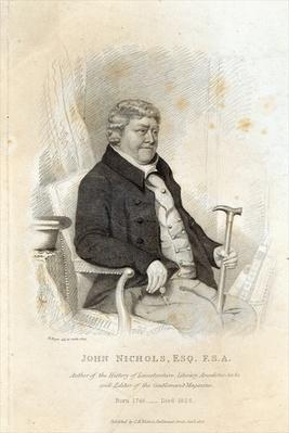 John Nichols, engraved by H. Meyer, 1825
