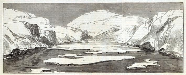 The North Pole Expedition: Discovery Bay, from 'The Illustrated London News', 1876