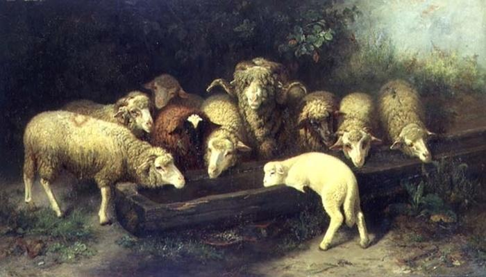 The Sheep Trough, 19th century