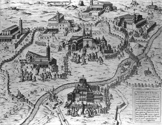 Le Sette Chiesa di Roma, 1575