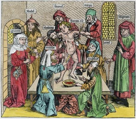 Circumcision, from 'Liber Chronicarum' by Hartmann Schedel