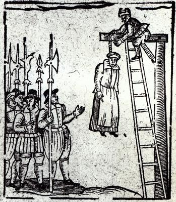 Public Hanging of a Woman