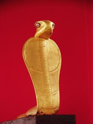 Figure of the cobra Netjer-Ankh, from the Tomb of Tutankhamun