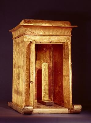 The Golden Shrine of Tutankhamun