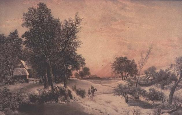 A Frosty Morning, 19th century