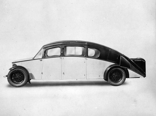 The Burney | Evolution of the Automobile