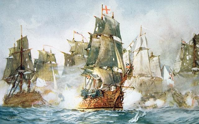 Battle of the Saints, 12th April 1782