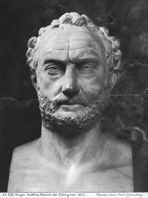 Herm of a man, said to be Thucydides