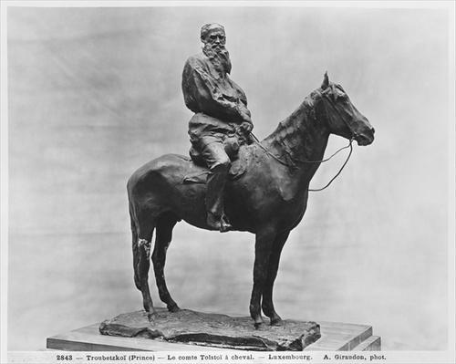 Leo Tolstoy riding Delire
